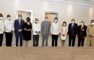 Nuestra rectora participa en encuentro con el ministro del MESCyT