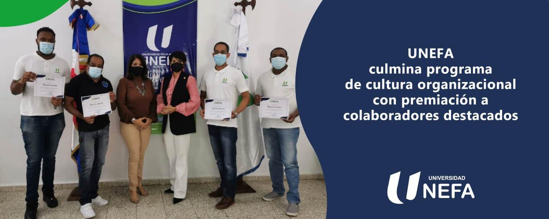UNEFA culmina programa de cultura organizacional con premiación a colaboradores destacados
